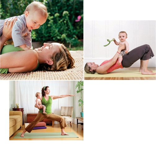 YOGA JOURNAL MOM & BABY